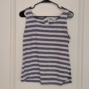 Liz Claiborne Striped Tank Top
